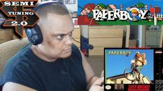 Playing Paperboy 2 on the Super Nintendo March 2018