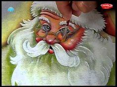 Pintando um Papai Noel Parte 2/2 Pintura no Tecido - Final                                                                                                                                                                                 Más