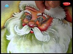 Pintando um Papai Noel Parte 2/2 Pintura no Tecido - Final