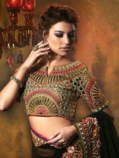Saree Blouse...Manish Malhotra Copy