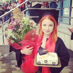 luciamariaofficial . Graduation day yaaaaay! Graduation Day, Instagram Posts, Grad Parties, Graduation Parties