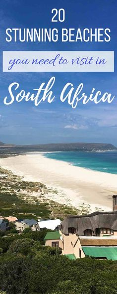20 Stunning beaches in South Africa you need to visit - The Travelling Chilli Clifton Beach, Visit South Africa, Cultural Experience, Beaches In The World, Destin Beach, Solo Travel, Travel Tips, Travel Essentials, Travel Destinations