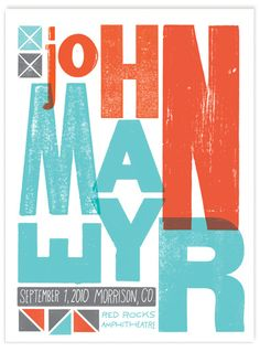 John Mayer, September 01, 2012 Red Rocks by tad carpenter