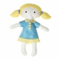 Make Your Own Felt Craft Doll - Emily, Themed Crafts, Doll Themed Crafts, childrens crafts, children's craft supplies