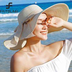 Купить товар2018 женские летние шапки с козырьком новый бренд соломенные шляпы для женщин пляжные шляпы солнца флоппи Sunhat, CHAPEAU Femme, Chapeu de Praia в категории Шляпы широкополыена AliExpress. 2018 женские летние шапки с козырьком новый бренд соломенные шляпы для женщин пляжные шляпы солнца флоппи Sunhat, CHAPEAU Femme, Chapeu de Praia