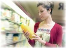Check labels to determine if your juice has been treated.