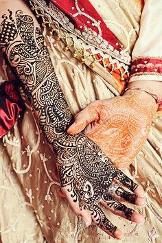 #Indian #Wedding - Brides #Henna