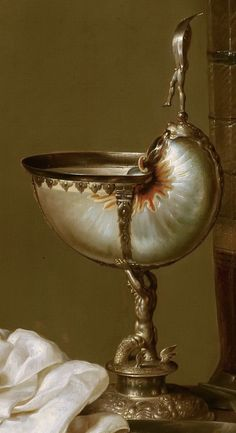 Willem Claesz Heda (attributed to) - Still Life with Nautilus Cup