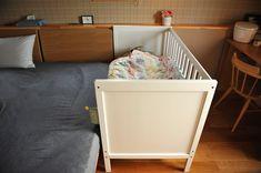 イケア(IKEA)のベビーベッドを購入/添い寝ベッド/SUNDVIK 家は明かりから。~スウェーデンハウスで北欧生活~