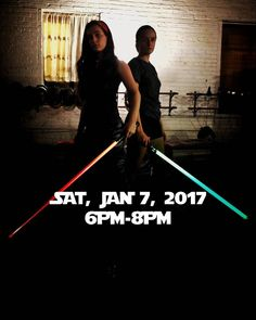 """Need a lightsaber fix after missing it in Rogue One?  This lightsaber class is intended for teens and adults. However we can accept students as young as 12. This is NOT a children's class. This is NOT a duelling club the lightsaber class will cover a fencers and theatre fight choreographer's approach to lightsaber methods foot work blade work simple drills choreography games and fun!  CLASS DETAILS The class is FREE! Because we will be using """"lightsabers"""" we don't want to run afoul with…"""