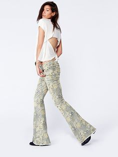 Free People Garden of the Night Flare, $128.00