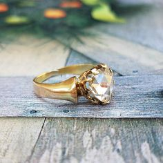 Antique Victorian Rose Cut Pear Diamond Engagement Ring in Gold Gems Jewelry, Jewelry Box, Jewellery, Victorian Jewelry, Antique Jewelry, Pear Diamond Engagement Ring, Antique Roses, Rose Cut Diamond, 18k Gold