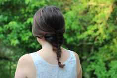 Easy Summer Hairstyles: Fishtail Braid | Beauty Basics