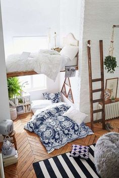 5 dreamy spaces (Daily Dream Decor) 5 dreamy spaces (Daily Dream Decor) Miez kathimiez H O M E Fav spaces featured on DDD's inspiration station […] Homes interior bedroom loft Dream Rooms, Dream Bedroom, Home Bedroom, Bedroom Decor, Bedroom Ideas, Casual Bedroom, Lofted Bedroom, Bedroom Furniture, Trendy Bedroom