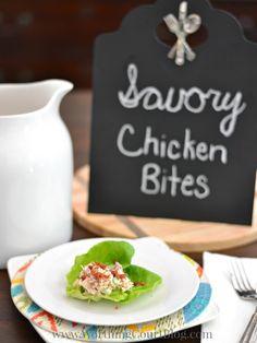Savory Chicken Salad Bites Appetizer Recipe
