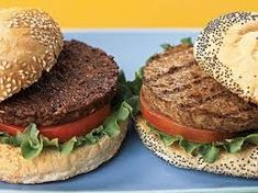 All-Time Favorite Veggie Burgers Satisfy your appetite for a great-tasting veggie burger that's easy to make and more healthfully prepared when you use your own wholesome ingredients. Find our favorite recipes here. Best Veggie Burger, Vegetarian Burgers, Vegetarian Barbecue, Vegetarian Recipes, Cooking Recipes, Vegetarian Lifestyle, Vegetarian Cooking, Soup Recipes, Plant Based Burgers