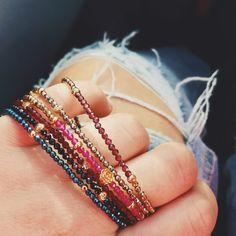 Minimalistyczne bransoletki z naturalnych kamieni | Filigree.pl   Gemstone bracelets from Filigree.pl