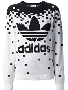 ADIDAS ORIGINALS BY JEREMY SCOTT Moletom Branco E Preto.