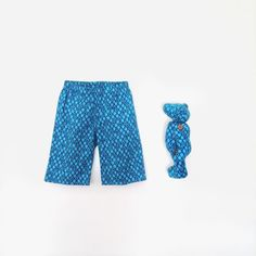 Me and My teddy Turquoise Blue Teddy bear and by moonroomkids, $55.00