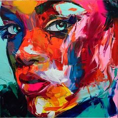 Françoise Nielly painting