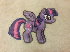 Alicorn Twilight Sparkle perler Bead Sprite by prettypixelations on deviantart