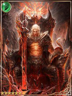 amazing, art, and fantasy image Anime Fantasy, Dark Fantasy Art, Fantasy Artwork, Fantasy Images, Dark Art, Demon Art, Fantasy Warrior, Character Inspiration, Character Art