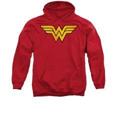 Dorkees.com - Wonder Woman: Wonder Woman Logo Dist Hoodie, $45.00 (http://www.dorkees.com/wonder-woman-wonder-woman-logo-dist-hoodie/)
