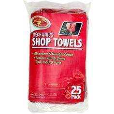 Eco-friendly option for camping, picnics or tailgating. No paper towels; wash when you get home and reuse!