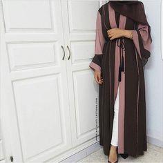 IG: @aaliyacollection worn by @faith_badr || IG: @Beautiifulinback || Modern Abaya Fashion