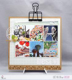 """Eva: Tampons & matrices de coupe (dies) #4enscrap """"La vie en images"""" Tampons, Images, Photos, Frame, Home Decor, Photography, Life, Cutaway, Picture Frame"""