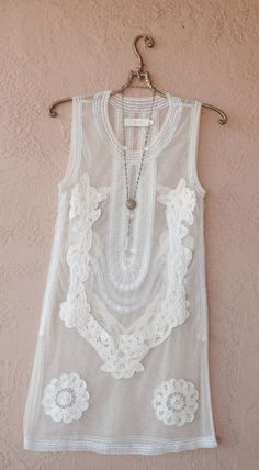 New Years Eve Rare Candela for free people sheer lace applique tank dress