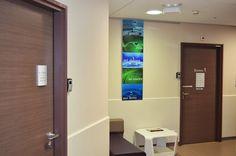 http://isis-signaletique.blogspot.com Signalétique et déco à l'hôpital - tableau impression numérique