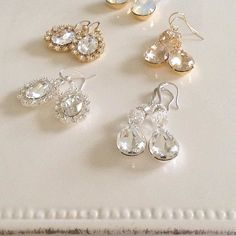 awesome vancouver wedding All these Swarovski earrings are so sparkly and all available @champagneandlace #bride#bridal#jewelry#jewellery#wedding#weddingjewelry#bridetobe#earrings#crystals#love#swarovskicrystals#gold#silver#custom#localdesigner#vancitywedding by @sweetpiece_jewelry  #vancouverwedding #vancouverweddingjewellery #vancouverwedding