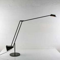 """Compasso / Minimal """"Flamingo"""" Table Lamp by Fridolin Naef for Luxo"""