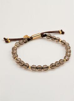 Power Gemstone Beaded Bracelet For Grounding