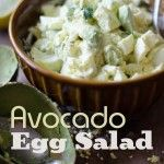 Easy and creamy egg salad recipe with ripe avocado. This avocado egg salad recipe is perfect for egg salad sandwiches and egg salad recipes