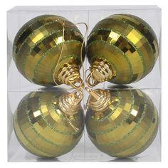 "4"" Shiny-Matte Mirror Ball : Target"