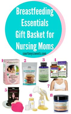 I'm excited to share our Breastfeeding Essentials Gift Basket for Nursing Moms ! Our breastfeeding journey wasn't easy in the beginning and we had some breastfeeding struggles here and there. Diy Baby Gifts, Baby Shower Gifts, Baby Tips, Baby Ideas, Daughters, Sons, Breastfeeding Facts, New Mom Gift Basket, Mixed Emotions