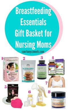 Breastfeeding Essentials Gift Basket for Nursing Moms