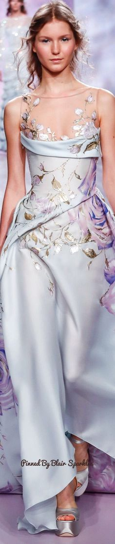 Georges Chakra Spring Couture 2017 ♕♚εїз | BLAIR SPARKLES |
