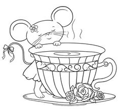 free Shabby-Chic-Teacup-Mouse-color_Bearywishes.blogsot.com.jpg (400×366)