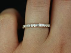Gabriella 14kt Rose Gold Milgrained Round and by RosadosBox