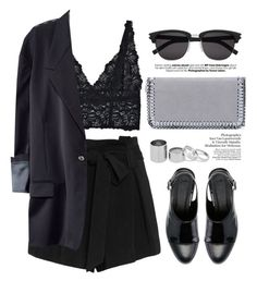 """""""Unbenannt #724"""" by style-setup ❤ liked on Polyvore featuring L'Agence, Lonely, H&M, ASOS, STELLA McCARTNEY, Betty Jackson and Yves Saint Laurent"""