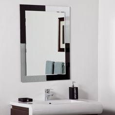 Decor Wonderland SSM524 Jasmine Modern Wall Mirror at ATG Stores