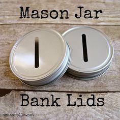 'A Casarella: Mason Jar Bank