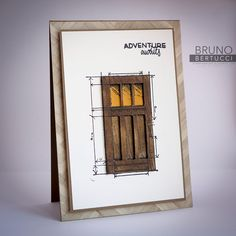 In This World, Places You'll Go, Serene Scenery Boy Cards, Cute Cards, Paper Glue, Paper Crafts, Rubber Stamping Techniques, Window Cards, Masculine Cards, Adventure Awaits, Stampin Up Cards