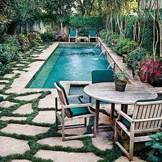 25+ Fabulous Small Backyard Designs with Swimming Pool
