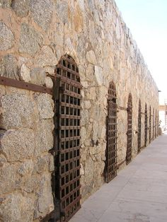 Yuma Territorial Prison, Yuma, AZ...known as Hell Hole.  Where our Uncle Thomas Gates was warden in the late 1800's.