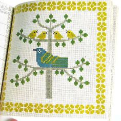 1973 Cross-Stitch Pattern ... for pillow?