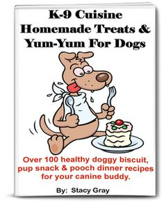 If you have dogs, then go ahead and give them the very best with these loving recipes just for them.